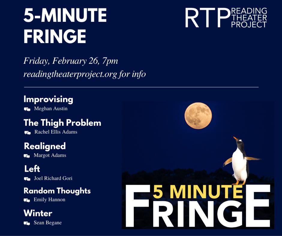 Friday Night Fringe Line Up
